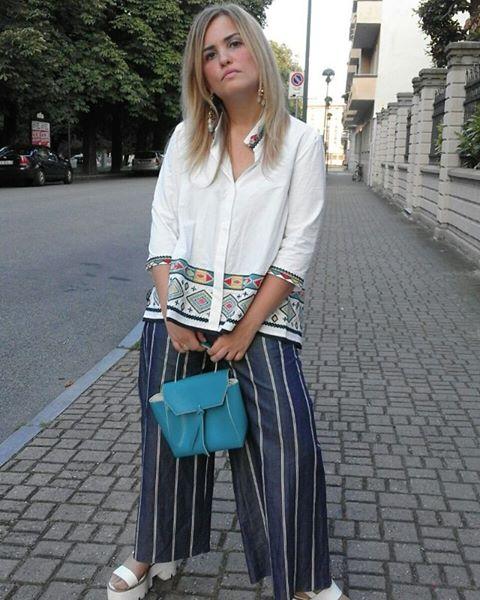 Carolina Ogliaro The World C head heart love street style fashion week