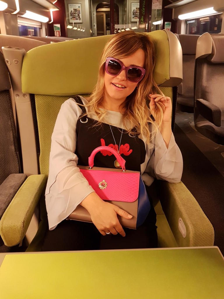 TGV Voyages SNCF opinion Carolina Ogliaro Paris fashion week