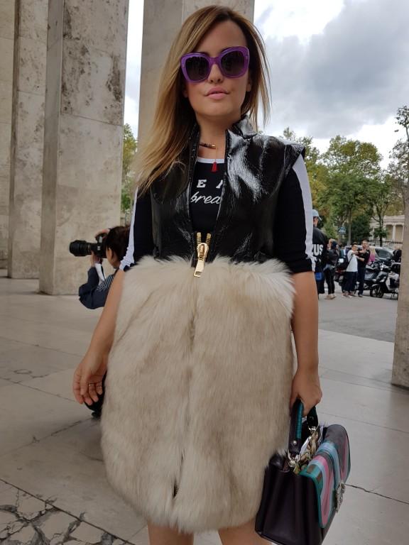 Carolina Ogliaro The World C Chiara Furlan Winter Paris fashion week streetstyle